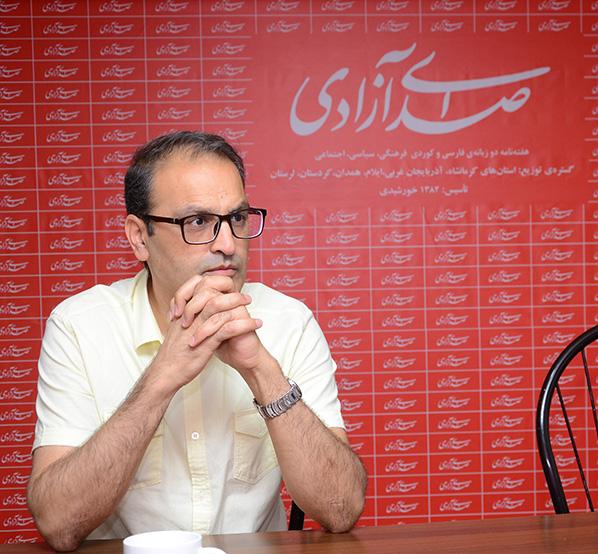 شهاب متقی فر در گفتگو با صدای آزادی: کرماشان به مسؤولان فرهنگی دلسوز نیاز دارد